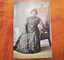 1910's Liliuokalani Queen of Hawaiian Islands Royalty Jas Steiner PMC #104
