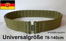 DDR NVA Koppel Gürtel UTV Feldkoppel Trageversuch Universalgröße Armee Militär