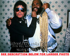 MICHAEL JACKSON 1985 WITH MR T (1) RARE  PHOTO
