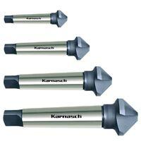 Kegelsenker 90° Senker CBN, HSS-XE mit Morsekonus 2, DIN335 Ø=20,5-80mm Karnasch