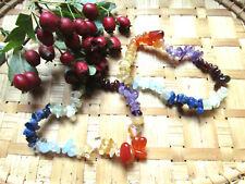 59-Bracelet baroque 7 chakras-Lithothérapie-Reiki-Soin par les cristaux