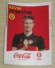 "Image Coca-Cola Sticker ""Kevin DE BRUYNE"" Belgium België PANINI Euro 2016 France"