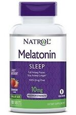 Natrol Melatonin - 10 Mg - Fast Dissolve - 100 Tablets