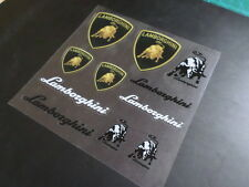 lamborghini Car interior small Stickers Set
