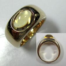 440 - Edler Caren Pfleger Ring - 16,3 Gramm - Gold 585 - Citrin -968-