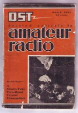 AMATEUR RADIO (March 1934) Cathode Ray Oscillograph