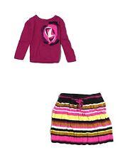 Toddler Girl Missoni For Target Purple Sweater Skirt Set Sz M 18/24 Months