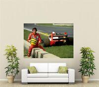 Ayrton Senna Legend Giant 1 Piece  Wall Art Poster SP227