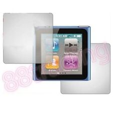 2 x Front Back Screen Protector iPod Nano 6 6G 6th GEN