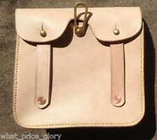 Canadian 1915 Pattern Oliver Leather Ammo Pouch - 2nd Pattern