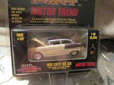 1955 Chevy 2 Colores Marrón Tostado Racing Champions Rc Ertl Menta Numerado 1:64