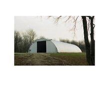 Steel Factory Mfg Q60x60x20 Metal Prefab Arch Quonset Hay Storage Building Kit