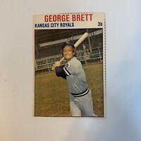 1979 Hostess George Brett # 68 Kansas City Royals Baseball Card Hand Cut HOF