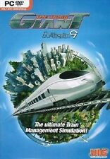 30241//THE TRAIN GIANT A-TRAIN 9   XP/7/VISTA POUR PC NEUF
