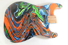Multicolor Hardtail SSS Strat Stratocaster body Fits Fender neck P444