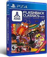 Atari Flashback Classics Vol 3 / Volume 3 ( Playstation 4 / PS4 )