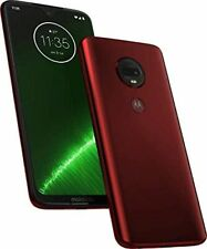 Motorola Moto G7 Plus - 64GB - Red Dual Sim (Unlocked) Smartphone