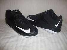 Nike 684685 Men's Air Max Pro 2 Metal 3/4 Baseball Cleats Size 11 - Black