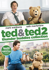 Ted 1 & 2: Thunder Buddies Collection (DVD,2015)