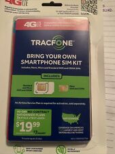 TracFone Bring Your Own Smart Phone Sim Card Activation Kit Ships