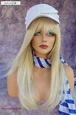 """STEVIE"" AMORE DOUBLE MONOTOP WIG *CREAMY BLONDE TURN HEADS W/ THIS BEAUTY 549"