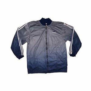 Adidas Track Jacket Ombre Grey Blue Size XL