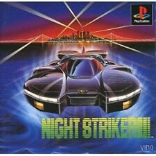 USED PS1 PS PlayStation 1 Night Striker