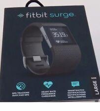 Fitbit Surge Fitness wireless battito GPS Smart watch (grande) - Nero