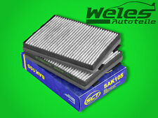 P1105A Cabin Filter Activated Carbon 2 St BMW E39 520 525 530 I D Td 535 540 M5
