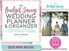 Wedding Planner and Organizer for Checklist Personalized Budget Book Bride 2018