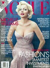Vogue 2011 Michelle Williams Karen Elson Stella Tennant Arianna Huffington