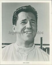 1967 Portrait of Mario Andretti, Race Car Driver Original News Service Photo