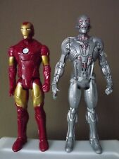 """2015 Marvel Avengers Age Of Ultron Titan Hero Tech 12"""" and Ironman Action"""
