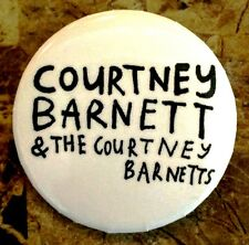 COURTNEY BARNETT Sometimes I Sit Ltd Ed RARE Pin +FREE Indie Rock Folk Stickers!