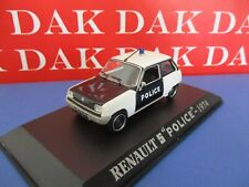 Die cast 1/43 Modellino Auto Polizia Police Renault 5 1974