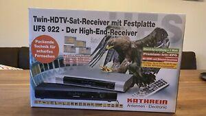 Kathrein Twin Sat Receiver UFS-922