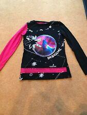 Filles Enfants Fashion Danse Jersey Uni Lumière École Crayon Jupes Âge 7-13 Ans