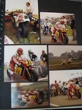 Photo Collage Honda / Yamaha 500 1983/86 Raymond Roche (FRA) 20x