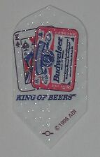 "3 Sets Budweiser ""King of Beers"" Slim Dart Flights - RARE - Free Shipping"