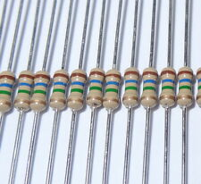 100  pcs 9.1 ohm 1/4W 5% Carbon Film Resistors. (ask me for other quantities).