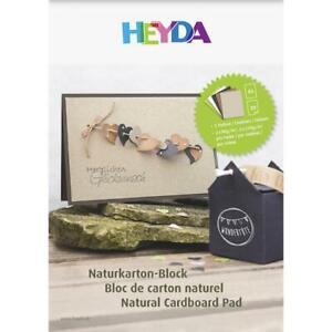 Heyda A3 Mixed Natural Papers & Card Pad 20pcs
