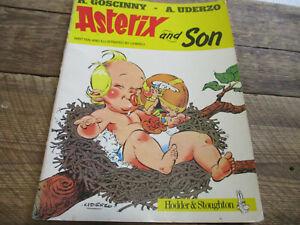 1983 Asterix & Son Comic Book Softcover