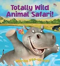 Totally Wild Animal Safari (Peek-a-boo Pop-up Books),Eilidh Rose,New Book mon000