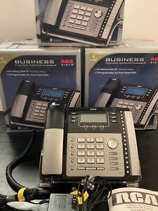 3x RCA Visys 4 Line Business Expandable System Speakerphone 25424RE1-A