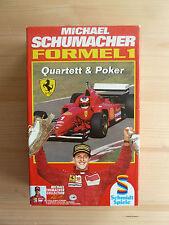 Michael Schumacher FORMEL 1: Quartett & Poker - Schnappschüsse & Spielspaß pur!