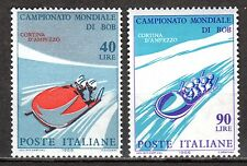Italy - 1966 Bobsleigh championship - Mi. 1196-97 MNH