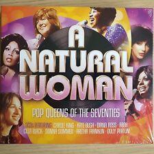 3CD NEW - A NATURAL WOMAN - 70's POP QUEENS - Music 3x CD Album - Bush Ross Abba
