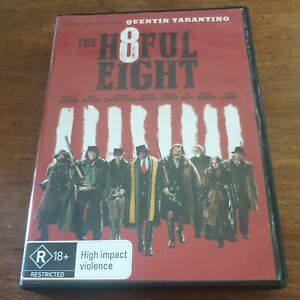 The Hateful Eight DVD R4 Like New! FREE POST