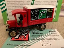 ** Lledo 7-UP Drinks Lemon Soda Dennis Delivery Van Limited Edition #