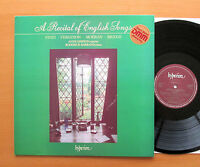 Hyperion A66103 Recital Of English Songs Anne Dawson Roderick Barrand NEAR MINT